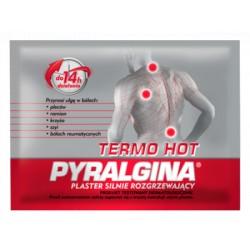 PYRALGINA Termo Hot // Plaster silnie rozgrzewajacy // ulga w bolach plecow, ramion, krzyza, szyi i reumatycznych do 14h