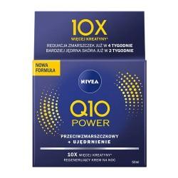 Nivea Q10 plus // Przeciwzmarszczkowy krem nawilzajacy na noc // Koenzym Q10 i Kreatyna