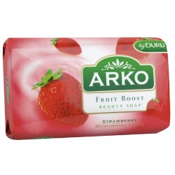 ARKO Mydlo Kosmetyczne z Kremem Nawilzajacym- Truskawka
