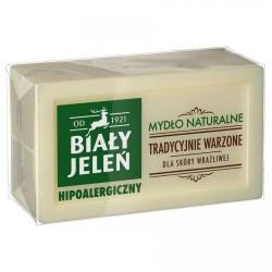 BIALY JELEN Mydlo Naturalne Hipoalergiczne// Tradycyjnie Warzone