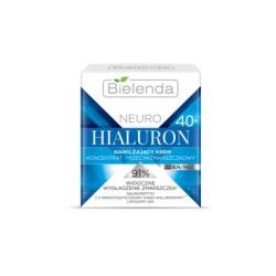 Bielenda NEURO HIALURON 40+ /Nawilzajacy krem-koncentrat przeciwzmarszczkowy/91%widoczne wygladzenie zmarszczek/dzien/noc