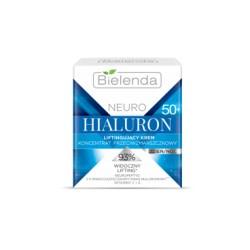 Bielenda NEURO HIALURON 50+ / Liftingujacy krem-koncentrat przeciwzmarszczkowy / 93% widoczny lifting / dzien/noc