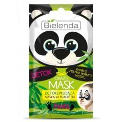 Bielenda CRAZY MASK Detoksykująca maska w płacie PANDA