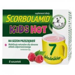 Scorbolamid KIDS HOT // Mobilizuje naturalne sily obronne ukladu odpornosciowego // 7 skladnikow // 8 saszetek