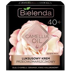 Bielenda CAMELLIA OIL // Luksusowy Krem Przeciwzmarszczkowy 40+ // dzien/noc // olej z kamelii, ceramidy, kwas hialuronowy