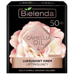 Bielenda CAMELLIA OIL // Luksusowy Krem Liftingujacy 50+ // dzien/noc // olej z kamelii, ceramidy, kolagen