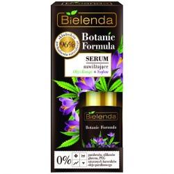 Bielenda BOTANIC FORMULA // Serum Nawilzajace olej z konopii + szfran // 96% skladnikow naturalnych // 0% parabenow, silikonu
