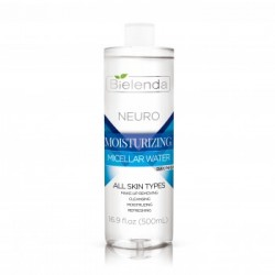 Bielenda NEURO MOISTURIZING MICELLAR WATER // all skin types // day/night // 500ml // cleansing, moistruzing, refreshing