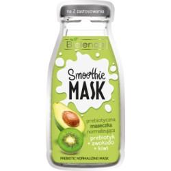 Bielenda SMOOTHIE MASK Prebiotyczna maseczka normalizująca PREBIOTYK + AWOKADO + KIWI