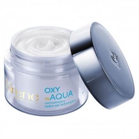 Lirene OXY in AQUA Odmladzajacy Hydro-zel Dotleniajacy // cera normalna //na noc // kompleks dotleniajacy, ekstrakt z murundy