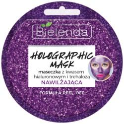 Bielenda HOLOGRAPHIC MASK Maseczka nawilżająca z kwasem hialuronowym i trehalozą