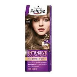 PALETTE INTENSIVE COLOR N6 Sredni Blond //Maksymalnie lsniacy kolor,100% pokrycia siwych wlosow