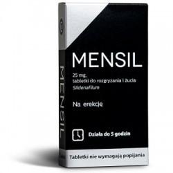 MENSIL na erekcje // dziala do 5 godzin // 2 tabletki // do rozgryzania i zucia, nie wymagaja popijania