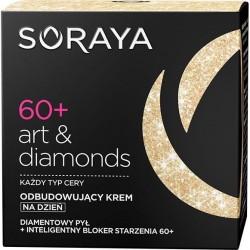 Soraya Art&Diamonds // Komorkowa regeneracja skory 60+ // Odbudowujacy krem z inteligentym blokerem starzenia na dzien