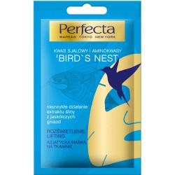 Perfecta BIRD'S NEST // Azjatycka Maska na tkaninie // rozswietlenie, lifting // kwas salicylowy i aminokwasy