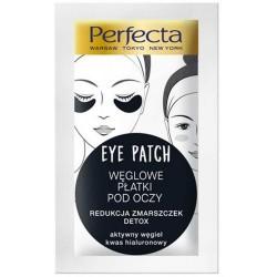 Perfecta EYE PATCH // Weglowe Platki pod Oczy // redukcja zmarszczek, detox // aktywny wegiel, kwas hialuronowy