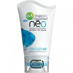 Garnier deodorant Neo SOFT COTTON // Intensywny Antyperspirant - niewidoczny suchy krem // skutecznosc + regeneracja 48h