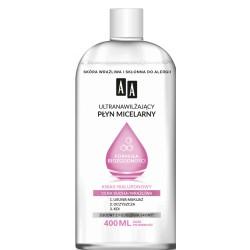 AA Ultranawilzajacy PLYN MICELARNY - biozgodna formula // cera sucha, wrazliwa // zgodny z fizjologia skory // 400ml