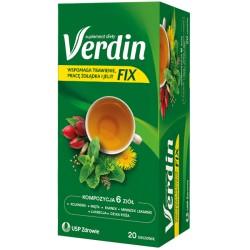 VERDIN FIX HERBATA // Kompleksowa pomoc dla ukladu trawiennego