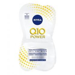Nivea Q10 POWER maska przeciwzmarszczkowa // wszystkie typy skory // koenzym Q10 + kreatyna // 2sztuki