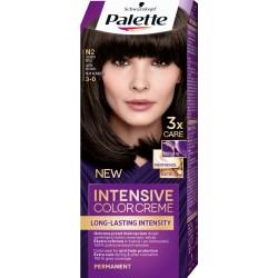 PALETTE INTENSIVE COLOR N2 Ciemny Braz /Maksymalnie lsniacy kolor,100% pokrycia siwych wlosow