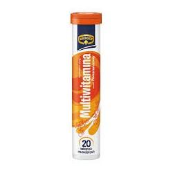 Kruger MULTIWITAMINA // smak pomaranczowy // 20 tabletek musujacych