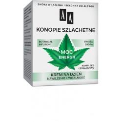 AA Botanical Infusion 30+ KONOPIE SZLACHETNE - MOC ENERGII // krem na dzien // nawilzenie + witalnosc