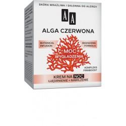 AA Botanical Infusion 40+ ALGA CZERWONA - MOC WYGLADZENIA // krem na noc // ujedrnienie + nawilzenie
