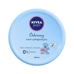NIVEA BABY Delikatny krem pielegnacyjny // Hipoalergiczny // Nawilza i pielegnuje skore twarzy i ciala