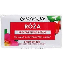 GRACJA ROZA // Kremowe mydlo rozane // Do ciala z ekstraktem z rozy // 100 g.