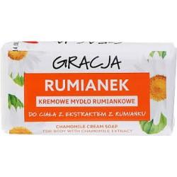 GRACJA-Kremowe mydlo rumiankowe // wzbogacone ekstraktem z rumianku