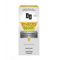 AA MEZZO LASER 40+ Krem redukujacy zmarszczki wokol oczu // wygladzenie+rozswietlenie // Bezzapachowy
