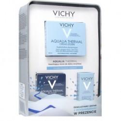Vichy AQUALIA THERMAL / Nawilzajacy KREM do skory wrazliwej /Do skory normalnej,mieszanej / Zestaw z miniproduktami  W PREZENCIE