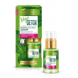 Bielenda VEGE DETOX // Normalizujące serum  JARMUŻ + BURAK + PREBIOTYK // cera  zanieczyszczona , mieszana z oznakami zmeczenia