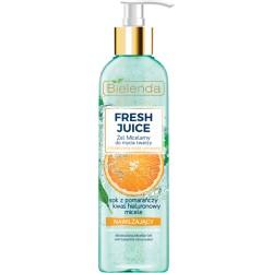 Bielenda Fresh Juice NAWILZAJACY Zel Micelarny do mycia twarzy z bioaktywna woda cytrusowa // cera normalna, sucha, wrazliwa