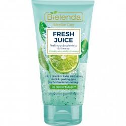 Bielenda Fresh Juice DETOKSYKUJACY Peeling Gruboziarnisty do twarzy bioaktywna woda cytrusowa // cera mieszana, tlusta, wrazliwa