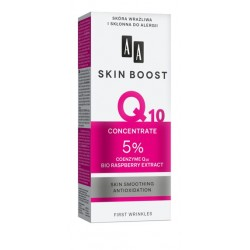 AA Skin Boost Q10 // CONCENTRATE 5% // coenzyme Q10, bio raspberry extract // 100% allergy tested // 30ml