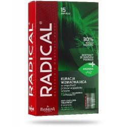 Farmona RADICAL Kuracja przeciw wypadaniu wlosow // Intensywna regeneracja i glebokie odzywienie wlosow wypadajacych