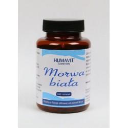 humavit MORWA BIALA 180tab / suplement diety/ Zmniejsza przyswajanie cukrow