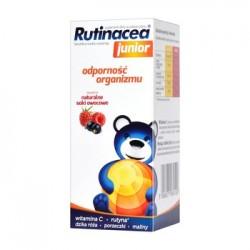 RUTINACEA JUNIOR - syrop na odpornosc dla dzieci // wit. C, rutyna, dzika roza, porzeczki, maliny, natur. soki owocowe // 100ml