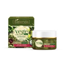 Bielenda Vege Skin Diet // Krem ANTI-AGE + DETOKS cera z oznakami starzenia // 50ml.
