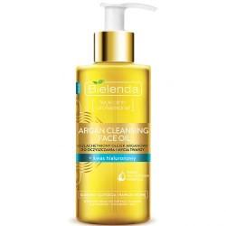 Bielenda ARGAN CLEASING FACE OIL + hyaluronic acid // Uszlachetniony olejek arganowy do oczyszczania i mycia twarzy