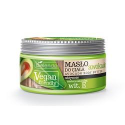 Bielenda VEGAN FRIENDLY//  Masło do ciała AWOKADO // olej z avokado + witamina E //250 ml.