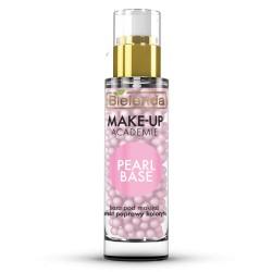 Bielenda Make-up Academie // PEARL BASE nawilzajaca baza pod makijaz // efekt poprawy kolorytu