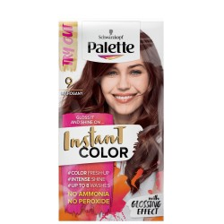 PALETTE INSTANT COLOR // szamponetka 9 MAHOGANY  with Glossing Effect