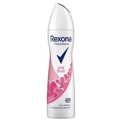 REXONA MotionSense // PINK BLUSH fresh confidence //  48 h  anti-perspirant
