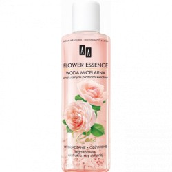 AA Flower Essence  ROSE // Woda micelarna z naturalnymi platkami kwiatow  // WYGŁADZANIE I ODŻYWIANIE