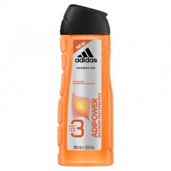 adidas ADIPOWER 3IN1 BODY, HAIR AND FACE SHOWER GEL FOR HIM //Maximum performance
