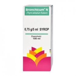 Bronchicum N SYROP 0,75 G/5 ml //  Thymi extractum fluidum  // 100 ml