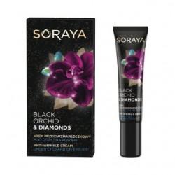 Soraya BLACK ORCHID & DIAMONDS //  Przeciwzmarszczkowy krem pod oczy i na powieki
